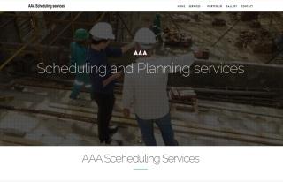 Izrada web sajta za AAA Sceheduling Services