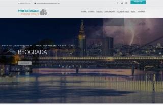Izrada web sajta za Profesionalni upravnik zgrade od poverenja