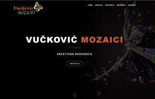 Izrada web sajta za VUČKOVIĆ MOZAICI