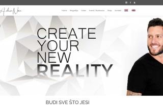 Izrada web sajta za Adam Noa