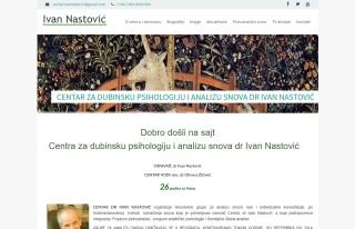 Izrada web sajta za Centra za dubinsku psihologiju i analizu snova