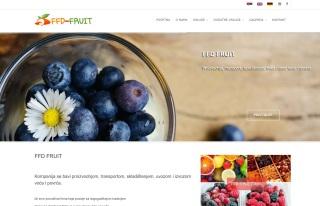Izrada web sajta za FFD FRUIT