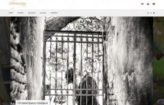 Izrada web sajta za Foto studio Memories