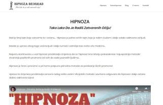 Izrada web sajta za Hipnoza Beograd