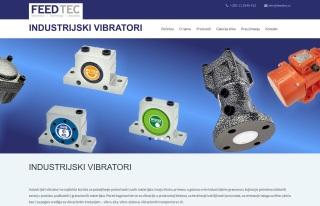 Izrada web sajta za Industrijski vibratori