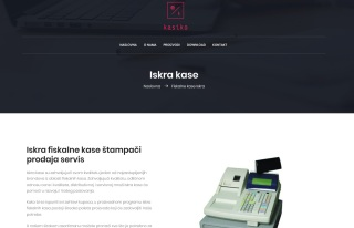 Izrada web sajta za KASIKO d.o.o.