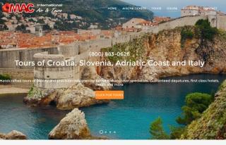 Izrada web sajta za MAC Travel