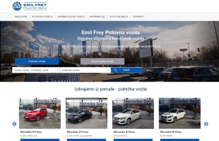 Izrada web sajta za Emil Frey Mercedes Benz Centar Polovnih Vozila