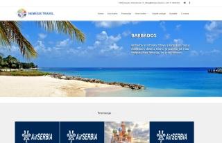 Izrada web sajta za Nemesis Travel