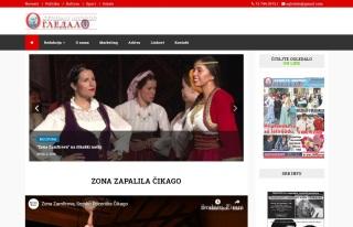 Izrada web sajta za SERBIAN MIRROR