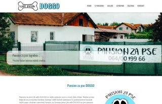 Izrada web sajta za Pansion za pse Life with DOGGO