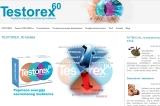 Izrada web sajta za Testorex kapsule
